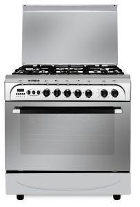 Fresh Moderno Gas Cooker, 5 Burners, Stainless Steel - 7530