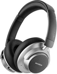Anker Over Ear Wireless Headphone With Microphone, Grey - A3021HF1