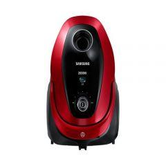 Samsung Bagged Vacuum Cleaner, 2000 Watt, Red - VC20M2530WR