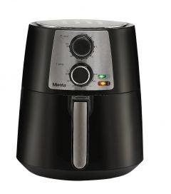 Mienta Air Fryer, 3.5 Liters, 1450 Watt, Black/Silver - AF47122A