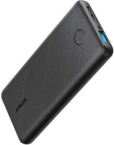 Anker PowerCore Slim Power Bank, 10000mAh, 1 Port, Black - A1229H11