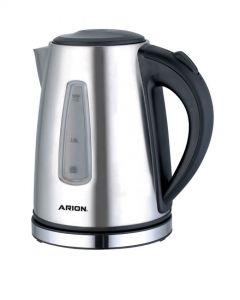 Arion Electric Kettle, 1.7 Liter, Stainless Steel - AR-1762