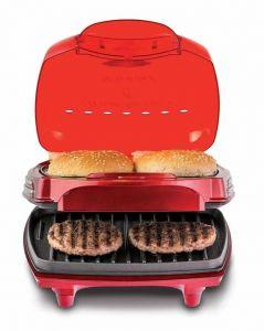 Ariete Burger Maker, 1200 Watt, Black/Red - 0185