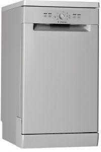 Ariston Freestanding Dishwasher, 10 Place Settings, 45 cm, Silver - LSFE 1B19 S