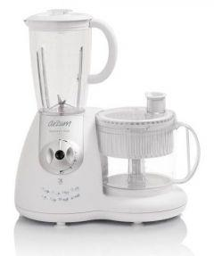 Arzum Food Processor, 1000 Watt, White - AR1044