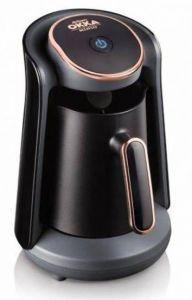 Arzum Okka Minio Turkish Coffee Machine, 480 Watt, Black/Gold - OK004