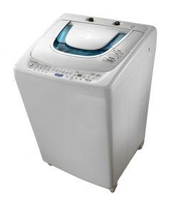 Toshiba Top Loading Washing Machine With Pump, 10 KG, White - AEW-9770SUP