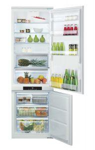 Ariston Built-In Refrigerator, No Frost, 2 Door, 12 FT, White - BCB 7030 AA F C