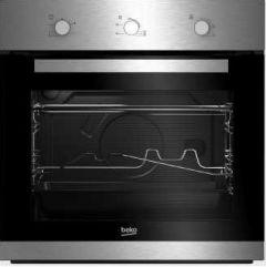 Beko Built-In Gas Oven With Grill, 66 Liters, Silver/Black - BIG22100X