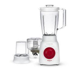 Sonai Rotato Blender with Mill and Chopper, 500 Watt, White - Mar-2500