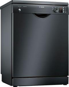 Bosch Free-Standing Dishwasher, 12 Place settings, Black - SMS25AB00G