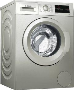 Bosch Front Load Automatic Washing Machine, 7 Kg, Silver - WAJ2017SEG