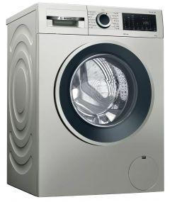 Bosch Automatic Washing Machine Serie 4, Front Loade, 9kg, Silver - WGA144XVEG