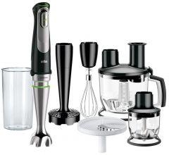 Braun MultiQuick 9 Hand Blender Set, 1000 Watt, Black - MQ9087X