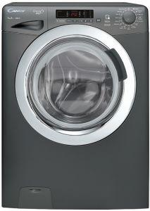 Candy Front Load Washing Machine, 7Kg, Silver - GVS107DC3R-EGY