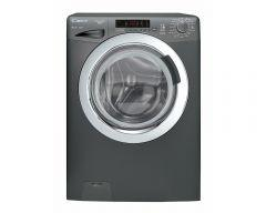 Candy Front Load Washing Machine 8 Kg , Silver - GVS128DC3R