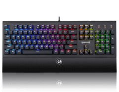 Redragon Aryaman Wired Mechanical Gaming Keyboard, Black - K569