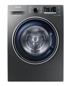 Samsung Front Load Automatic Washing Machine, 7 KG, Inverter Motor, Silver- WW70J5455FX