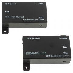 2B HDMI Extender High Power with 2 Adapters, Black - CV134