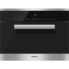 Miele Built-In Steam Oven, 38 Liters, Stainless Steel/Clean Steel- DG 6200