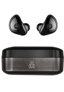 Porsh Dob In Ear Wireless Earphones With Microphone, Black - E400 BT