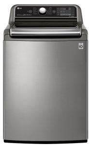 LG Top Load Automatic Washing Machine, 25 KG, Silver- T2572EFHST