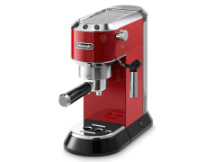 Delonghi Dedica Espresso Coffee Maker, Red - EC680R