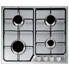 Elba Gas Built-in Hob, 4 Burners, Stainless Steel- EF60-400 XD