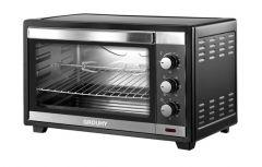 Grouhy Electric Oven, 36 Liter, 1600 Watt, Black - 2936