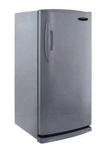 Electrostar Freestanding Upright Freezer, Defrost, 6 Drawers, 260 Liters, Silver - ED260P