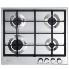 Elba Gas Built-in Hob, 4 Burners, Stainless Steel-Elio 65-445 R