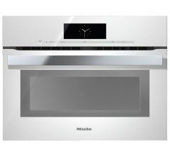 Miele Built-In Electric Oven, 49 Liters, White - H 6800 BP