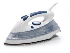 Ariete Steam Iron, Ceramic, 2000 Watt, Gray/White - 6214