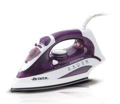 Ariete Steam Iron, 2000 Watt, Purple/White - 6235