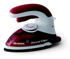 Ariete Steam Iron, 800 Watt, Red/White - 6224