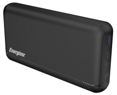 Energizer Power Bank, 30000mAh, 3 Ports, Black - UE30057PQ