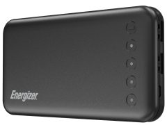 Energizer Power Bank, 10000mAh, 2 Ports, Black - UE10022