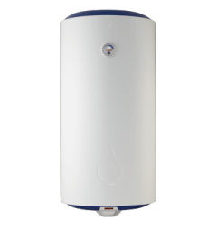 Universal Electric Water Heater, 55 Liters, White / Blue - EWS155WB