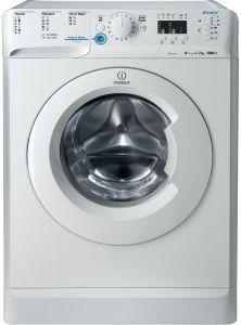 Indesit Front Loading Digital Washing Machine, 7KG, White - XWA71051WEU