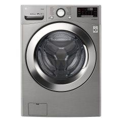 LG Front Load Automatic Washing Machine With Dryer, 18 KG, Inverter Motor, Silver- F0L2CRV2T2