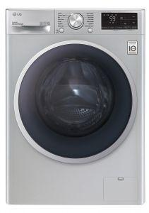LG Vivace Front Load Automatic Washing Machine, 8 KG, Inverter Motor Silver- F4R5TYGSL
