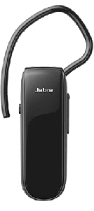 Jabra Classic Wireless Bluetooth Earbuds With Microphone, Black - 100-92300000-60