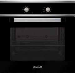 Brandt Built-In Gas Oven, 57 Liters, Stainless Steel - FEG6200X