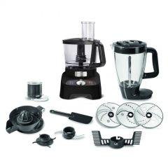 Moulinex Double Force Food Processor, 1000 Watt, Black - FP824825