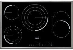 Zanussi Built-In Electric Hob, 4 Burners, 80 cm - ZEV8648XBA