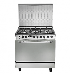 Universal Grand Rosa Cooker, 5 Burners, Silver - GR-8605