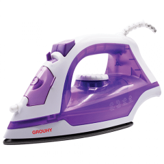 Grouhy Steam Iron, 1300 Watt, Purple - G01413EE