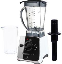 G.Tec Volcano Professional Blender with Attachments, 1400 Watt, Black \ White - G017-HBS