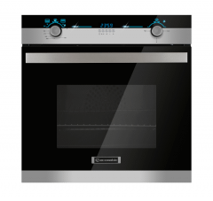 Ecomatic Built in Gas oven With grill, 64  Liters, Black - G6304LED