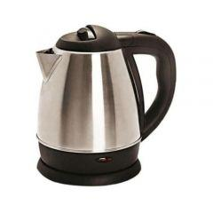 General Electric Kettle, 1.5 Liter, 1500 Watt - Silver/Black